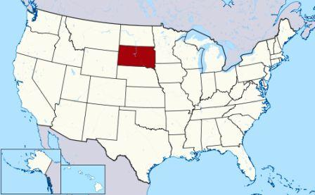 map-south-dakota